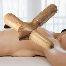 Wooden Thai Traditional Reflexology Foot Hand Back Body Massage SPA Therapy Tool