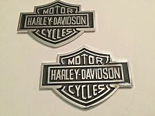 Harley Davidson Gas Fuel Tank Emblems Medallions Ford F150 Jeep Chevy GMC
