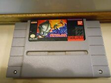 ULTRAMAN: Towards the Future Super Nintendo SNES Game Bandai Ultra Man Free Ship