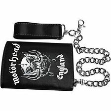 UFFICIALE Motorhead-WARPIG-Custodia tripla catena Wallet in finta pelle