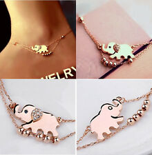 Fashion Charm Sexy Barefoot Sandal Cute Elephant Anklet Bracelet Foot Ankle