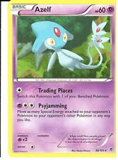 POKEMON BLACK AND WHITE PLASMA BLAST - AZELF 38/101 RARE