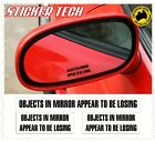 OBJECTS IN MIRROR ARE LOSING STICKER DECAL FOR DRIFT RACE RALLY DRAG CAR