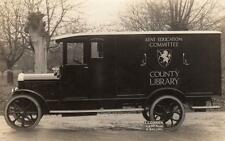 Kent County Library Vulcan Van Lorry Godden Motor Body Builder West Malling PC