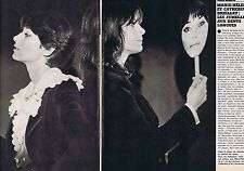 COUPURE DE PRESSE CLIPPING 1976 MARIE HELENE & CATHERINE BREILLAT  (3 pages)