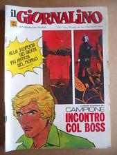 GIORNALINO n°43 1974 Il Campione Zaniboni - Rino Albertarelli  [G554]