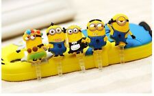 Despicable Me Minions Anti Dust Plug 3.5 mm Universal Mobile Dust Plug - 1 Piece