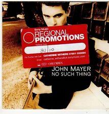 (FI990) John Mayer, No Such Thing - 2001 DJ CD