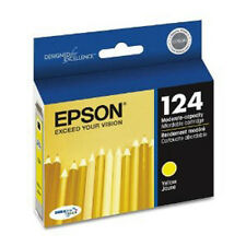 Epson T124 Genuine Ink Cartridge 124 Yellow T124420 Y For Stylus NX430 NX420
