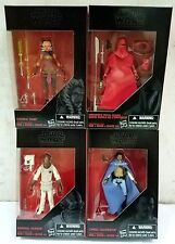 STAR WARS BLACK SERIES 3.75 Inch AHSOKA TANO, ROYAL GUARD, ADMIRAL ACKBAR, LANDO