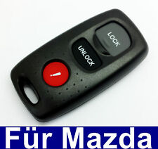 2 Button Car Remote Control Casing with Key field Panic for Mazda 2 3 5 6