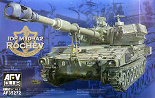 AFV Club 1/35 AF35272 IDF M109A2 ROCHEV 155mm Self-Propelled Howitzer (Mod.1982)