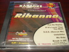 CHARTBUSTER 6+6 KARAOKE DISC 40377 RIHANNA CD+G POP MULTIPLEX SEALED