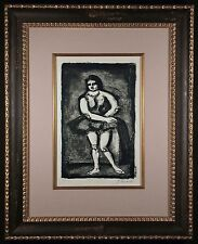 L' Ecuyere Original by George ROUAULT Signed and Numbered