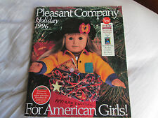 American Girl Pleasant Company 1996 Holiday Catalog Today Doll Cover