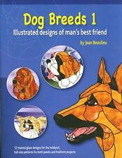Stained Glass Pattern Book Dog Breeds 1