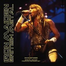 IRON MAIDEN BRITISH METAL BY DAVE ARTWOOD - 4 DVD'S & 116 PAGE BOOK STILL SEALED