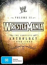 WWE - Wrestlemania Anthology : Vol 2 DVD REGION 4 NTSC FORMAT