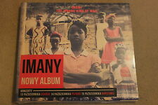 Imany - The Wrong Kind of War CD NEW SEALED - Polish Stickers