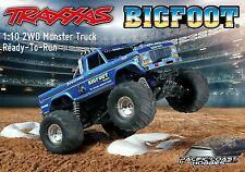 Traxxas 1:10 BIGFOOT #1 Electric RC Monster Truck w/ XL-5 ESC RTR TRA360341