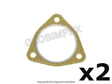 BMW E46 Front Muffler to Intermediate Pipe Exhaust Gasket Set of 2 MEISTERSATZ