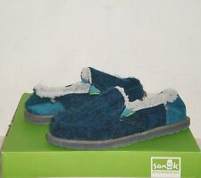 SANUK Kimbrrr Sidewalk Surfers Shoes INDIGO NWOT 6US NWOB $65 MSRP