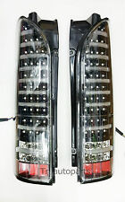 BLACK PAIR REAR LIGHT LED TAIL LAMP TOYOTA HIACE COMMUTER VENTURY VAN 2005-13