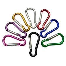 1×Color Carabiner Aluminum Clip Small Keyring Camping Sports Dring tewghngh