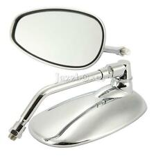 Motorcycle Rearview Mirrors For Yamaha V-Star XVS 650 1100 Custom Silverado US