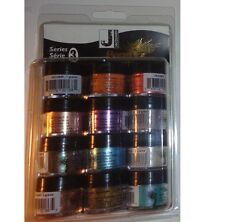 JACQUARD PEARL X POWERED PIGMENTS SERIES 3 KIT 12  SUPER COLOURS