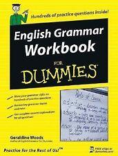 English Grammar Workbook For Dummies (For Dummies (Language & Literatu-ExLibrary