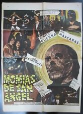 """Las Momias de San Angel"" - Orig. Theatr. Poster, '75 / 36 1/2"" x 27"", Very Good"