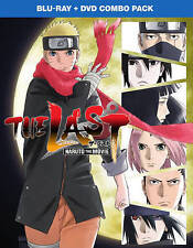 THE LAST NARUTO THE MOVIE (Blu-ray/DVD, 2015, 2-Disc Set) NEW WITH SLEEVE