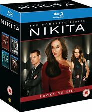 Nikita TV series complete Seasons 1-4  New Blu-ray Region Free