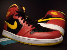 Nike Air Jordan I Retro 1 High OG ATLANTA HAWKS BLACK RED GOLD 555088-017 NEW 11