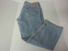 Levi's 505 Mens Denim Jeans Size 36 x 30 Levis Denim Dunagrees Levi Blue Jeans