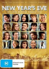 NEW YEAR'S EVE DVD Halle Berry Jessica Biel Jon Bon Jovi DRAMA (Sealed)*R4