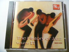 HISTORY OF JAZZ 2 ROUGE RARE LIBRARY SOUNDS MUSIC CD