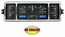 Dakota Digital 1939 Chevy VHX Gauge Kit Black Alloy w/ White - VHX-39C-K-B