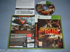 NEED FOR SPEED THE RUN XBOX 360 (Complet, envoi suivi)