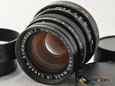 Leica SUMMICRON M 50mm F2 GERMANY[EXCELLENT]from Japan(3971)