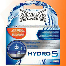 Genuine Wilkinson Sword Mens Hydro 5 Razor Blades 4-Pack