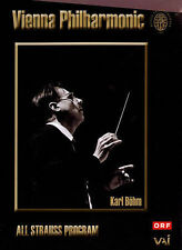 Karl Bohm Conducts the Vienna Philharmonic Orchestra DVD NEW