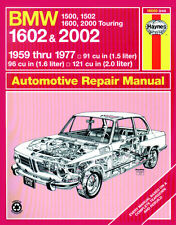 0240 Haynes BMW 1500, 1502, 1600, 1602, 2000 & 2002 (1959 - 1977) up to S Manual