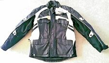 Lookwell Endeavour Textile Motorcycle Jacket w/Lining Size XL Blk/Gun/Sand New