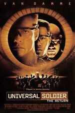 Universal SoLdier 4 The Return Poster 01 Metal Sign A4 12x8 Aluminium