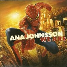 ANA JOHNSSON We Are rare promotional CD SPIDERMAN movie OST promo RARE Sony
