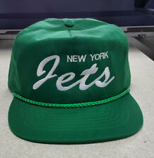 New York JETS true vintage caps early 80's mint condition!!deadstock big time!!
