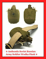 ☆ soviet russian army soldier field water & vodka Flask, 0.7L canteen bottle ☆