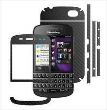 Textured Carbon Skin,Full Body Protector for Case,Wrap For Blackberry Q10